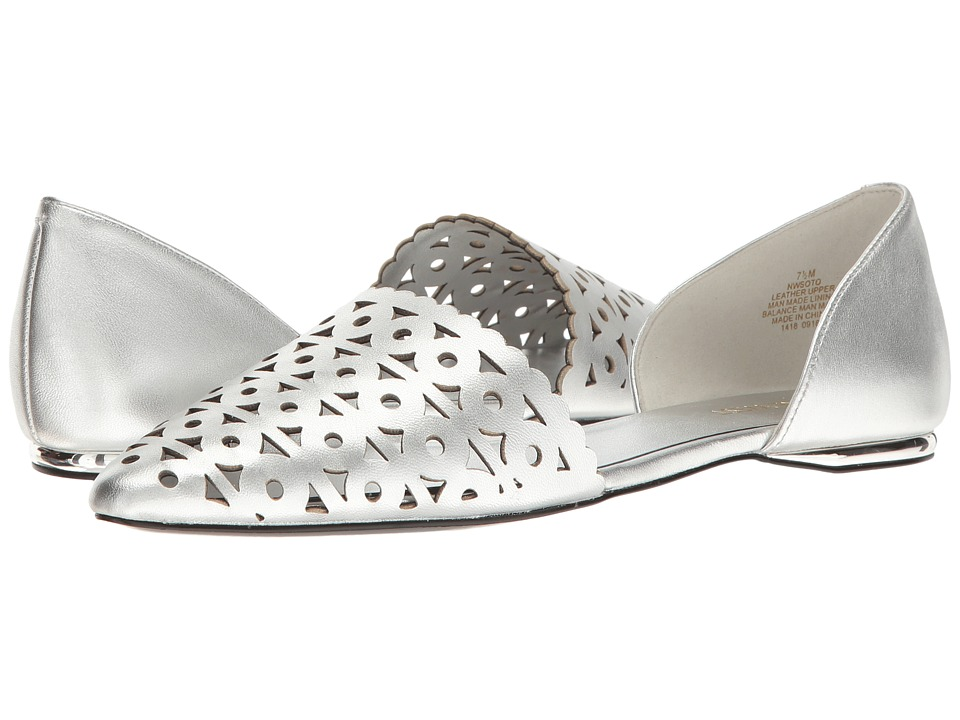 Nine West - Soto (Silver Metallic) Women's Shoes