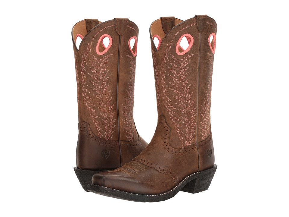 Ariat Heritage Rancher (Mustang Mud) Cowboy Boots