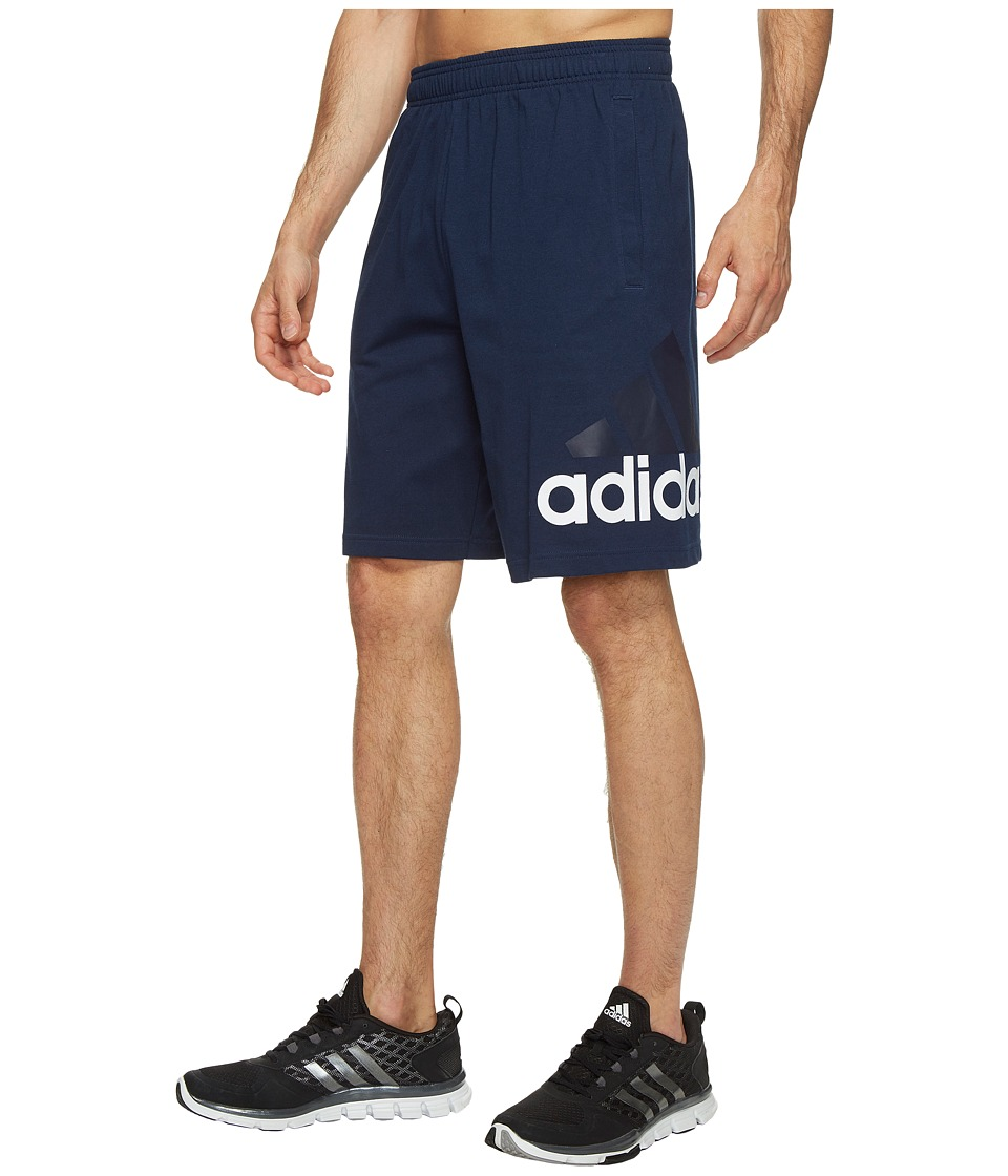 adidas - Jersey Shorts (Collegiate Navy) Men's Shorts