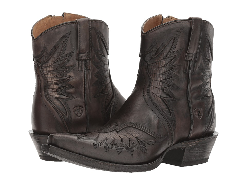 Ariat Santos (Naturally Charcoal) Cowboy Boots