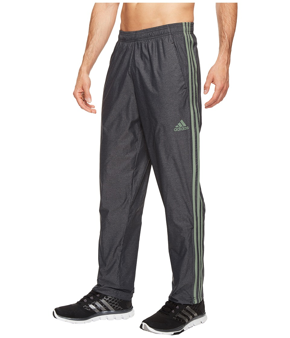 adidas - Essential Wind Pants (Black/Trace Green) Men's Workout