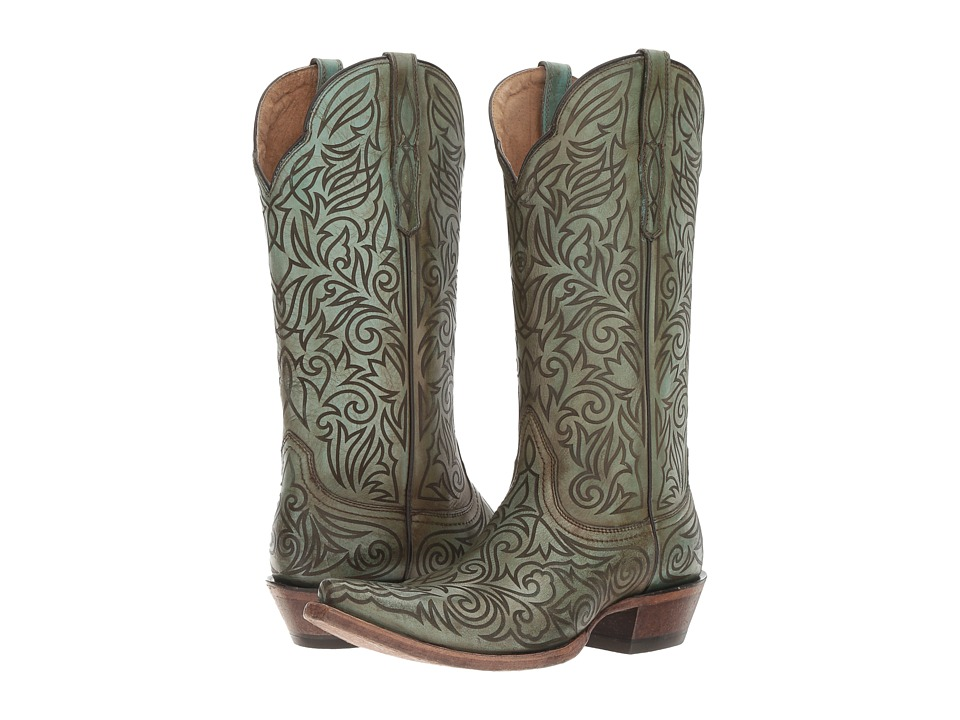 Ariat Sterling (Naturally Turquoise) Cowboy Boots