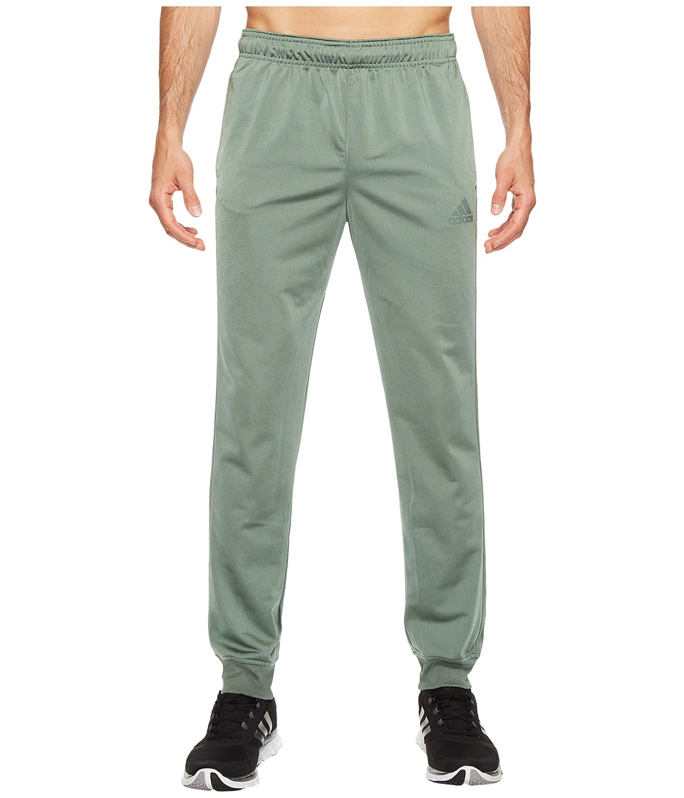 adidas - Essentials Tricot Jogger (Trace Green/Trace Green) Men's Clothing