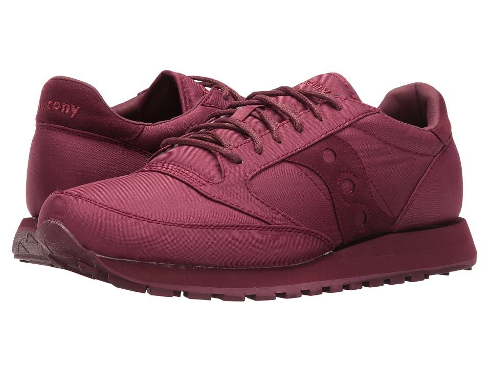 Saucony Originals - Jazz O Mono (Burgundy) Men's Classic Shoes