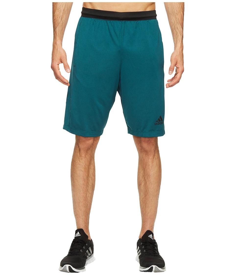 adidas - SpeedBreaker Hype Shorts (Mystery Green) Men's Shorts