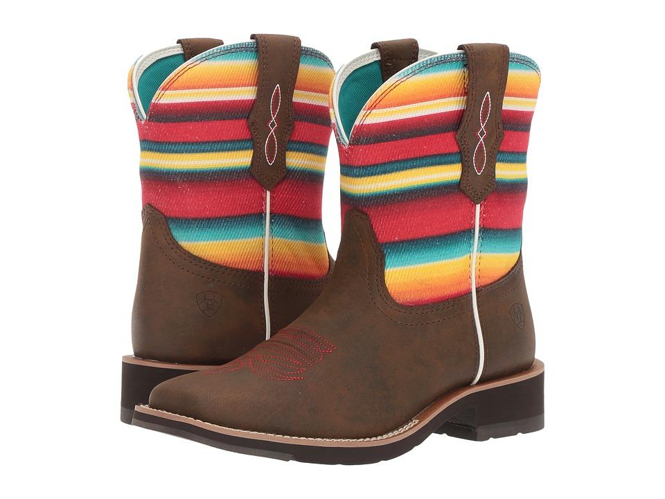 Ariat Rosie (Toasted Brown/Serape) Cowboy Boots