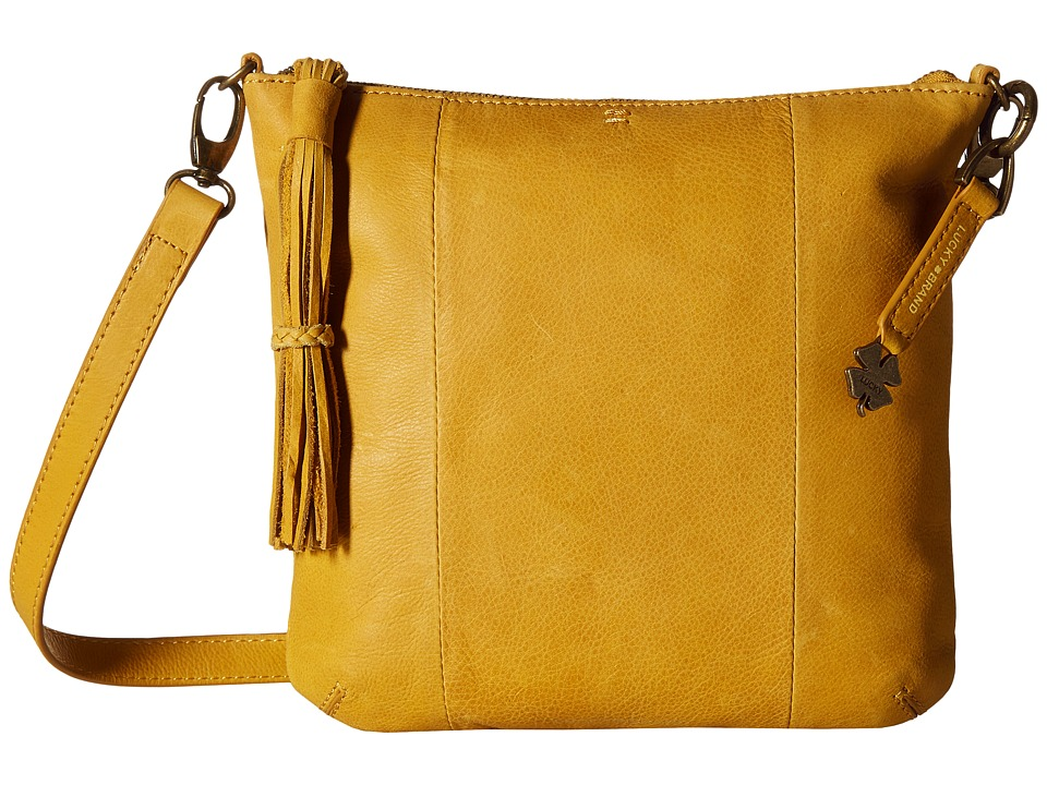 Lucky Brand - April Crossbody (Marigold) Cross Body Handbags