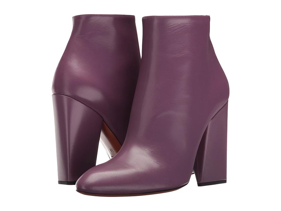 Missoni - Sculpted Heel Ankle Boot (Mauve) Women's Boots