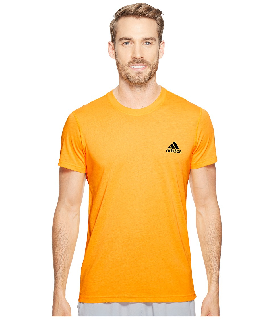 adidas Ultimate Crew Short Sleeve Tee (Solar Gold) Men