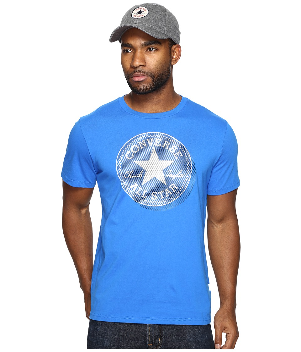 Converse Microdots Chuck Patch Tee (Soar Blue) Men