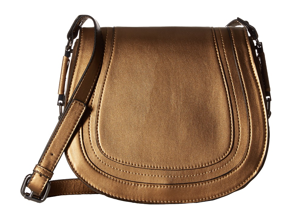 French Connection - Liza Large Crossbody (Bronze Metallic) Cross Body Handbags