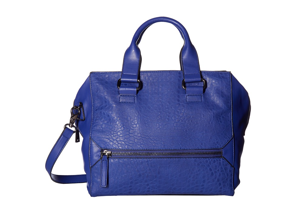French Connection - Bridget Satchel (Monarch Blue) Satchel Handbags