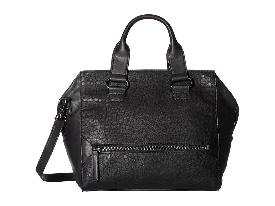 French Connection - Bridget Satchel (Black) Satchel Handbags