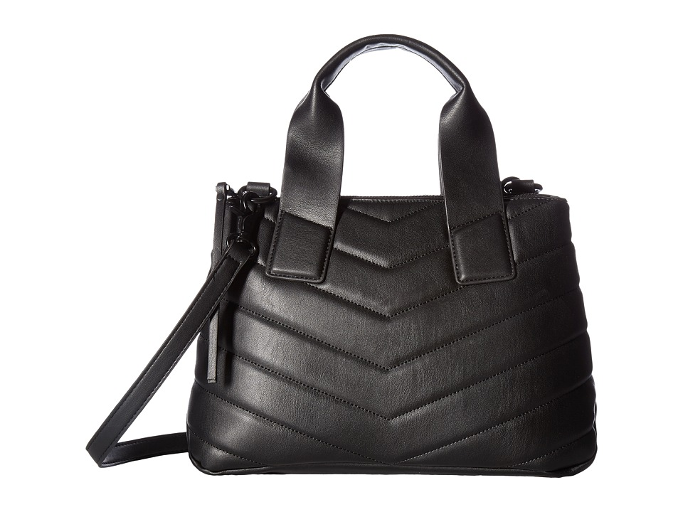 French Connection - Freda Satchel (Black) Satchel Handbags