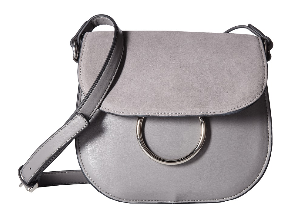 French Connection - Delaney Saddle Bag (Mount Fuji) Handbags