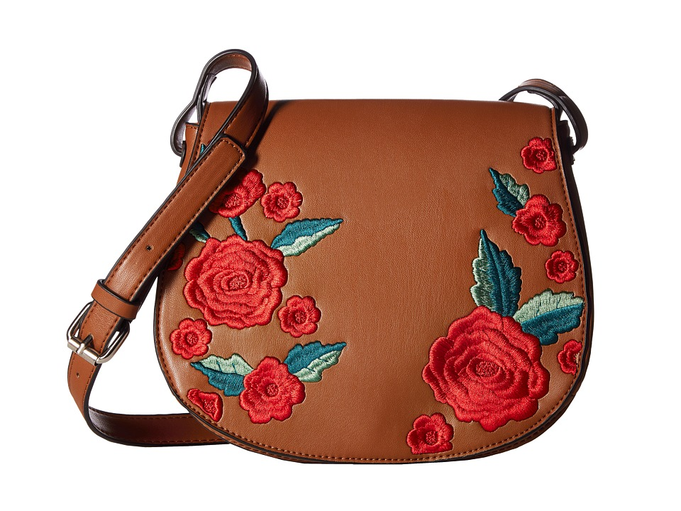 French Connection - Edith Saddle Bag (Nutmeg) Handbags