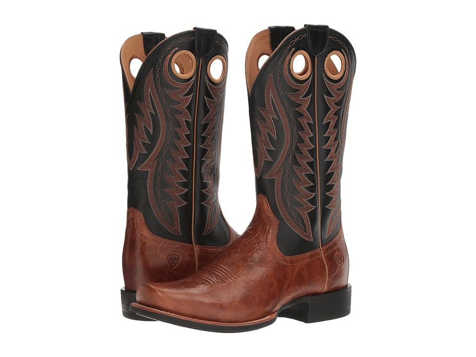 Ariat Cutter Classic VX (Gingersnap/Black Deertan) Cowboy Boots