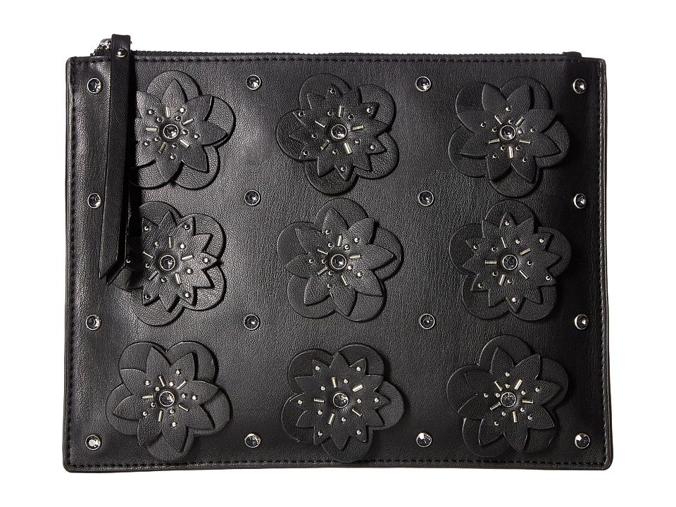 French Connection - Lynn Clutch (Black) Clutch Handbags