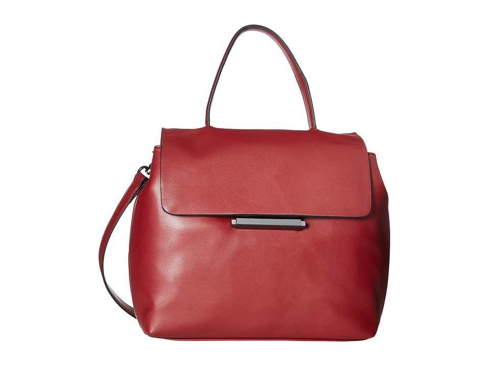 French Connection - Madison Top-Handle (Berry Red) Top-handle Handbags