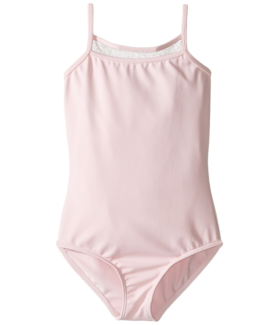 Bloch Kids - Embroidered Mesh Camisole (Toddler/Little Kids/Big Kids) (Candy Pink) Girl's Sleeveless