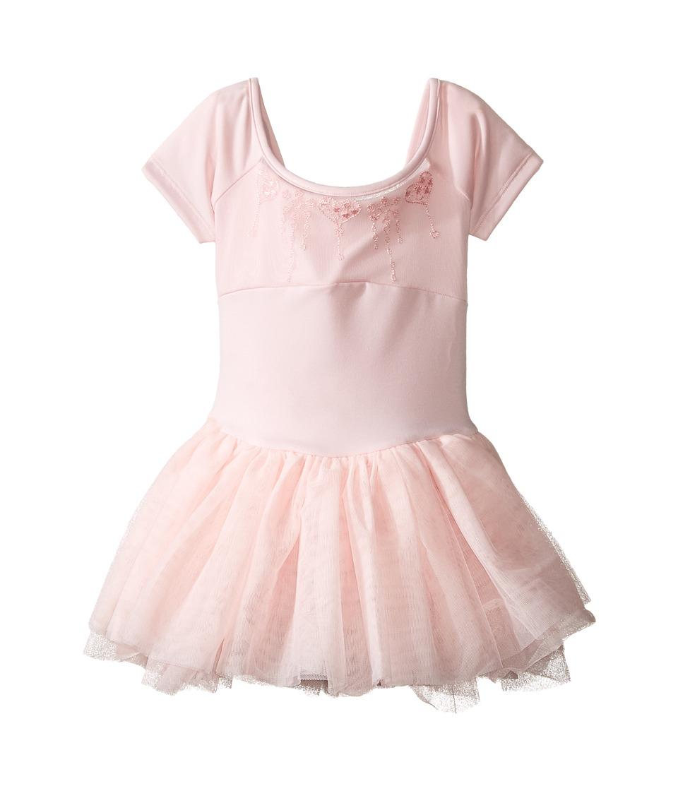 Bloch Kids - Embroidered Mesh Tutu Dress (Toddler/Little Kids/Big Kids) (Candy Pink) Girl's Dress