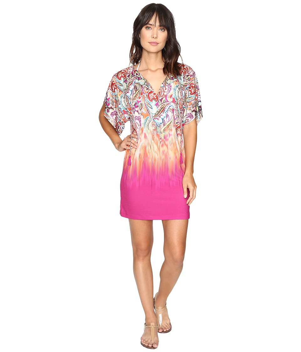 LAUREN Ralph Lauren Sunrise Tunic Cover-Up Multi Swimwear