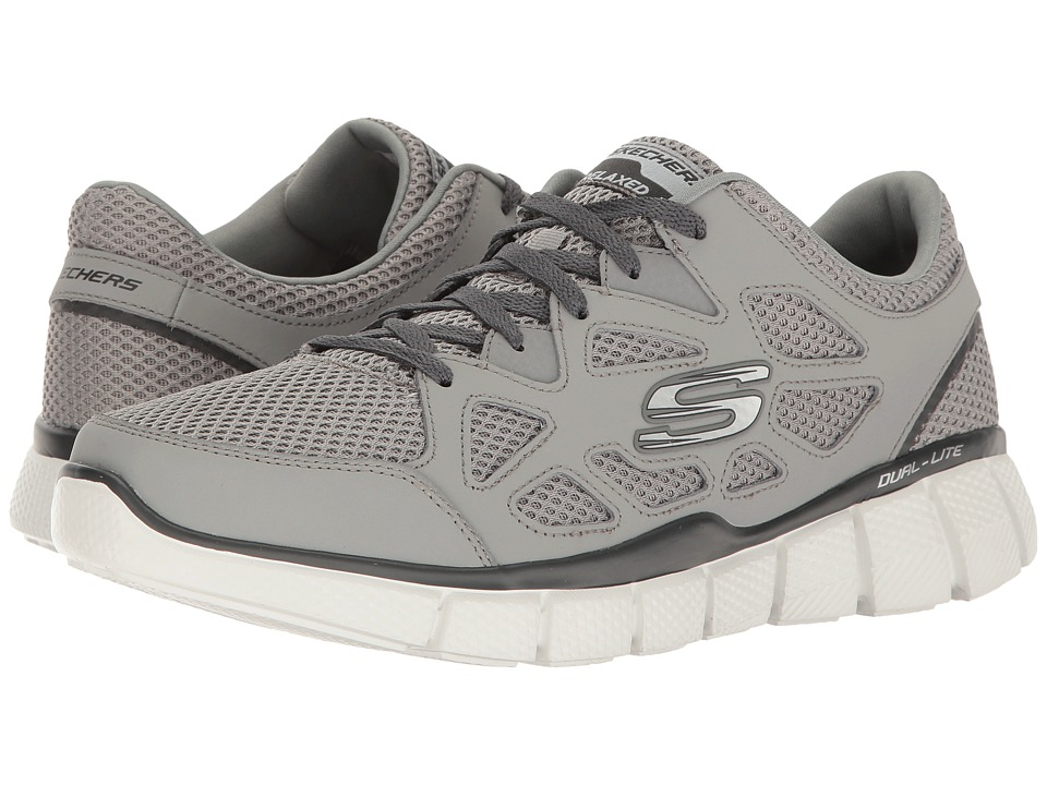 SKECHERS - Equalizer 2.0 - Groy (Gray/Charcoal) Men's Shoes