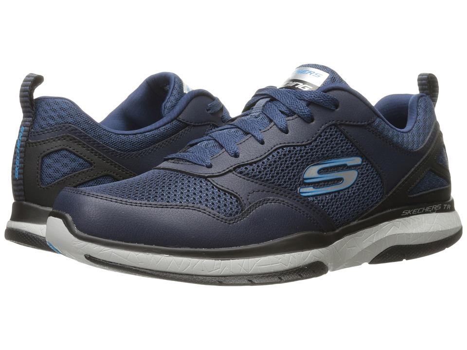 SKECHERS - Burst TR Halpert (Navy/Blue) Men's Shoes