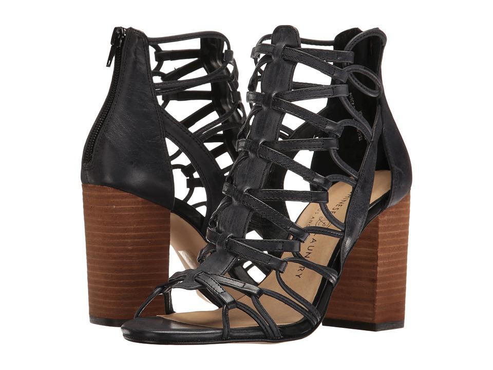 Chinese Laundry - Tegan (Black Leather) High Heels