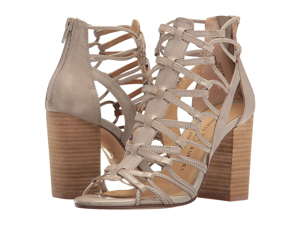Chinese Laundry - Tegan (Grey Leather) High Heels