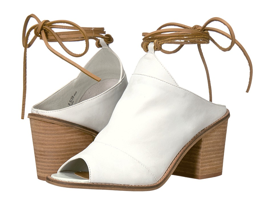 Chinese Laundry - Cali (White Leather) High Heels