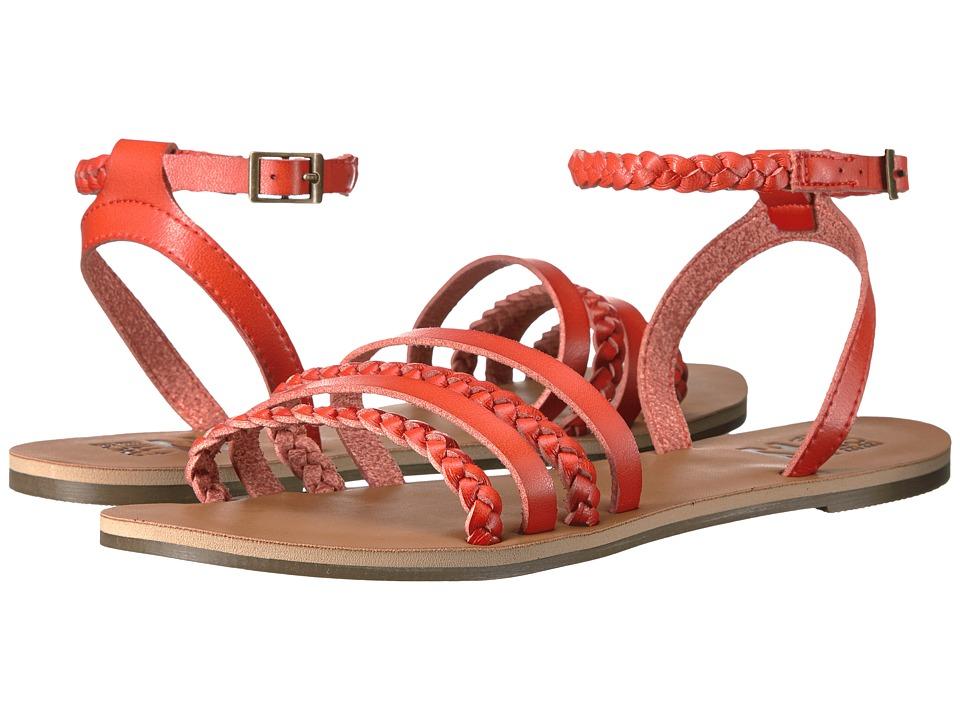 Billabong - Untold Sun (Tango Red) Women's Sandals