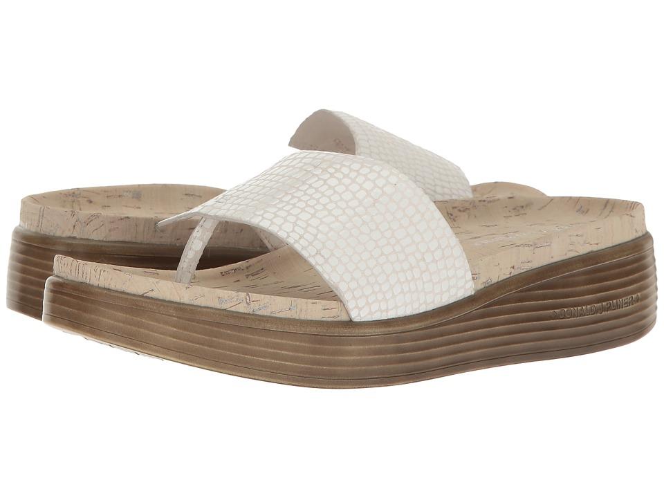 Donald J Pliner - Fifi 18-QD (Bone Patent Snake) Women's Shoes
