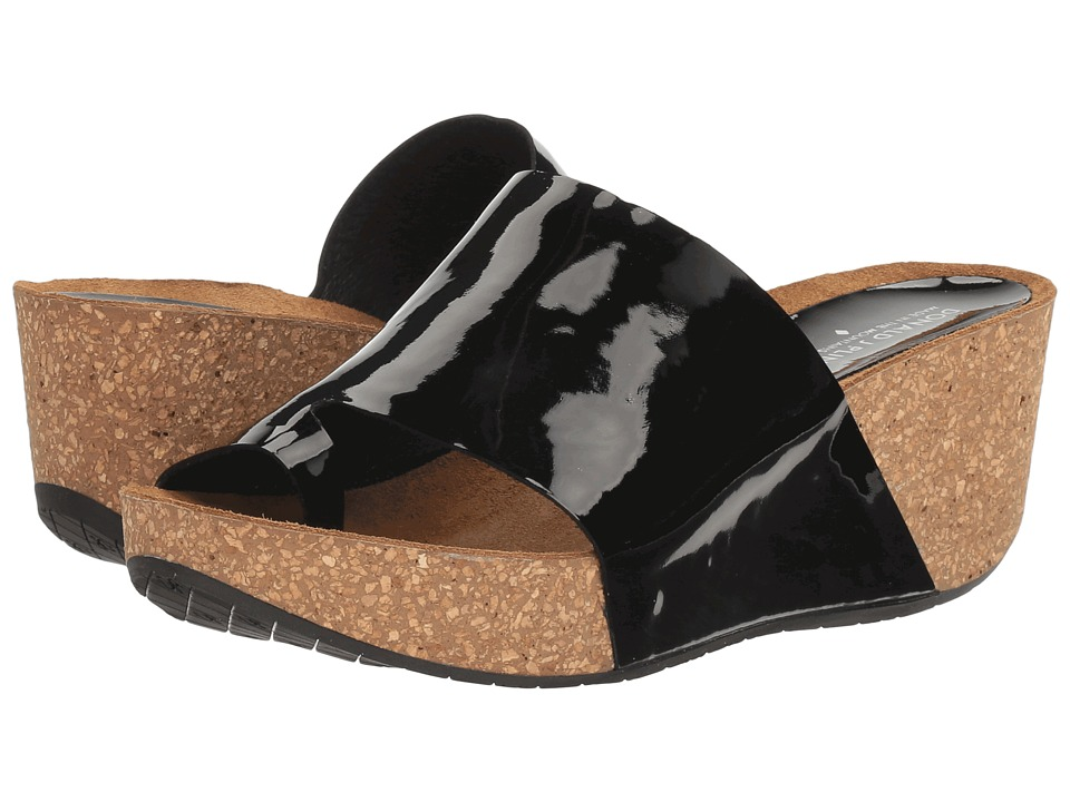Donald J Pliner - Ginie (Black Patent) Women's Shoes