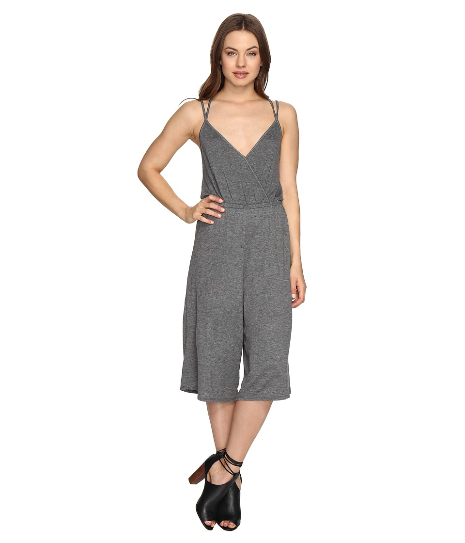 Culture Phit - Tamsin Spaghetti Strap Jumper with Strappy Back (Heather Grey) Women's Jumpsuit & Rompers One Piece