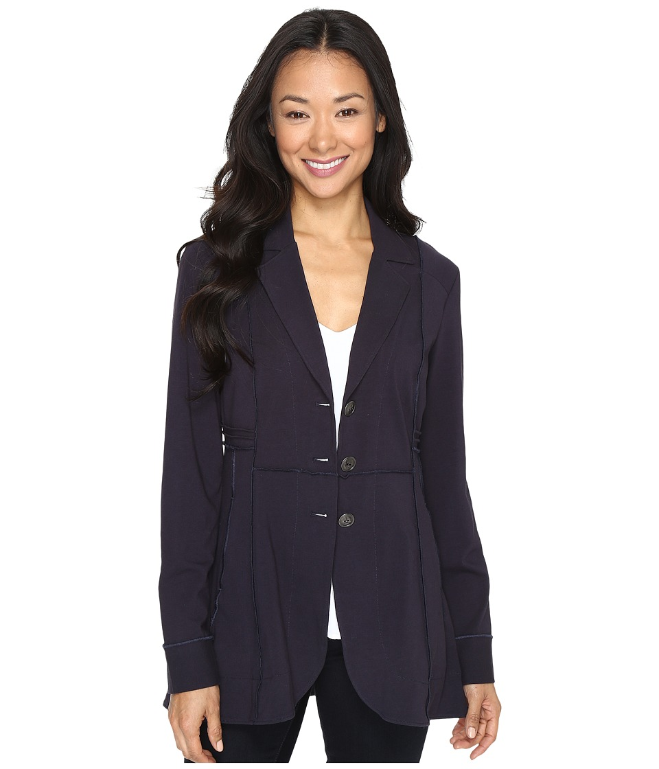 NIC+ZOE - Seamed Riding Jacket (Midnight) Women's Jacket