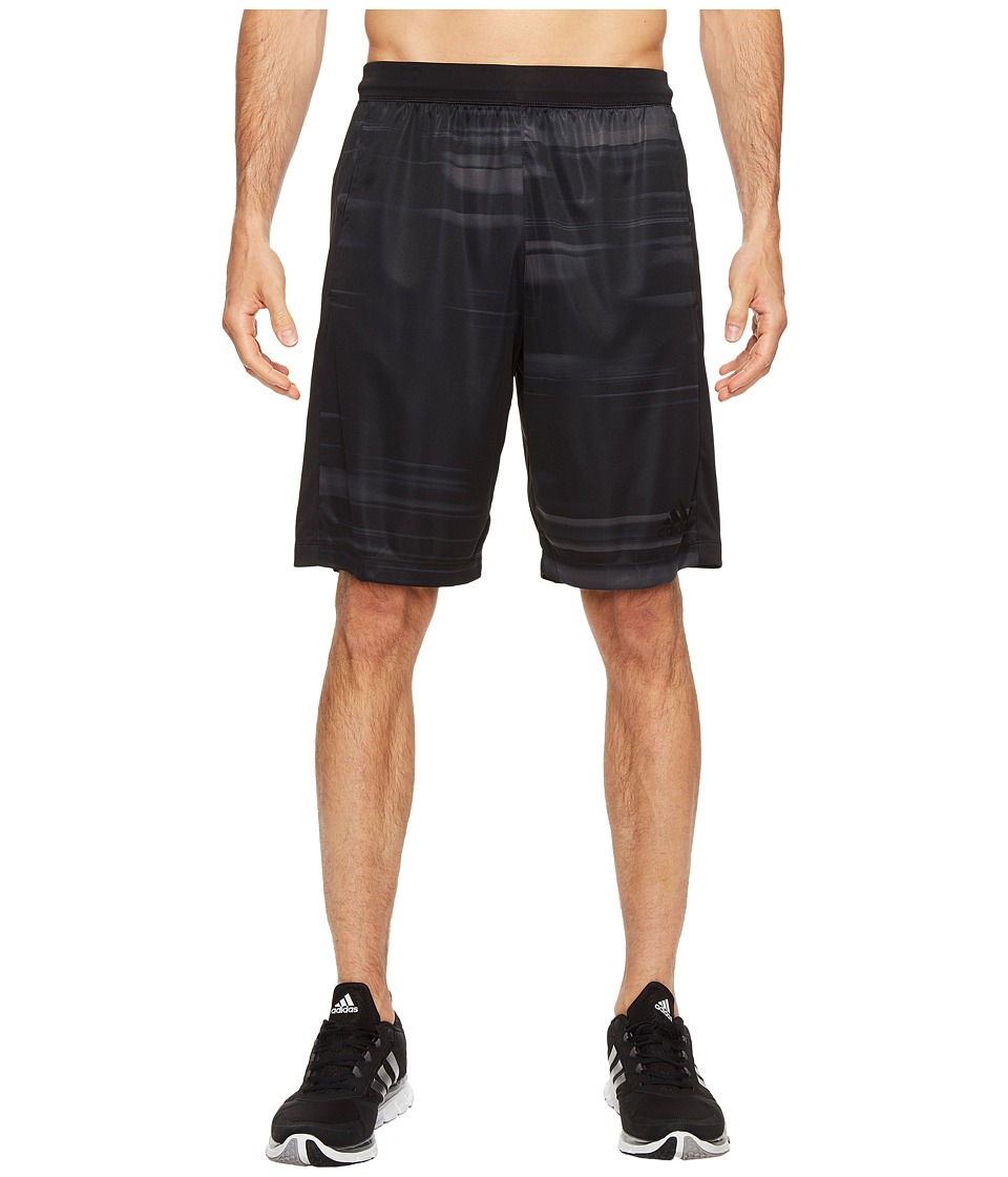 adidas - SpeedBreaker Tech Speed Blur Shorts (Utility Black/Black) Men's Shorts