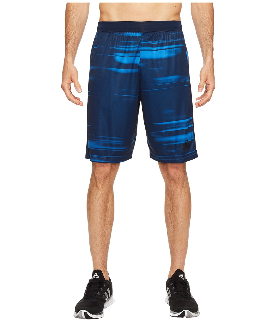 adidas - SpeedBreaker Tech Speed Blur Shorts (Bright Royal/Collegiate Navy) Men's Shorts