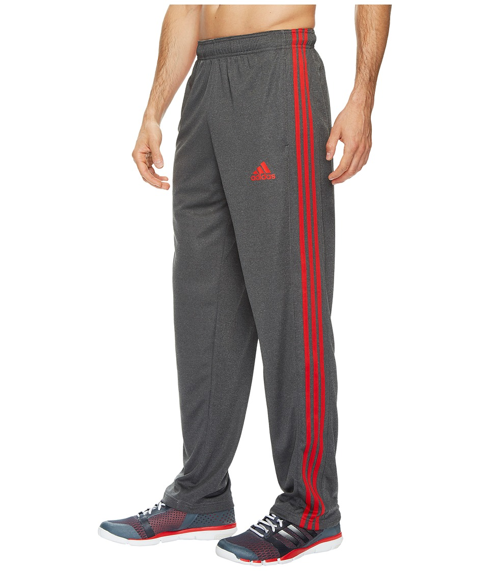 adidas - ClimaCore 3-Stripes Pant (Black/Solid Grey/Scarlet) Men's Casual Pants