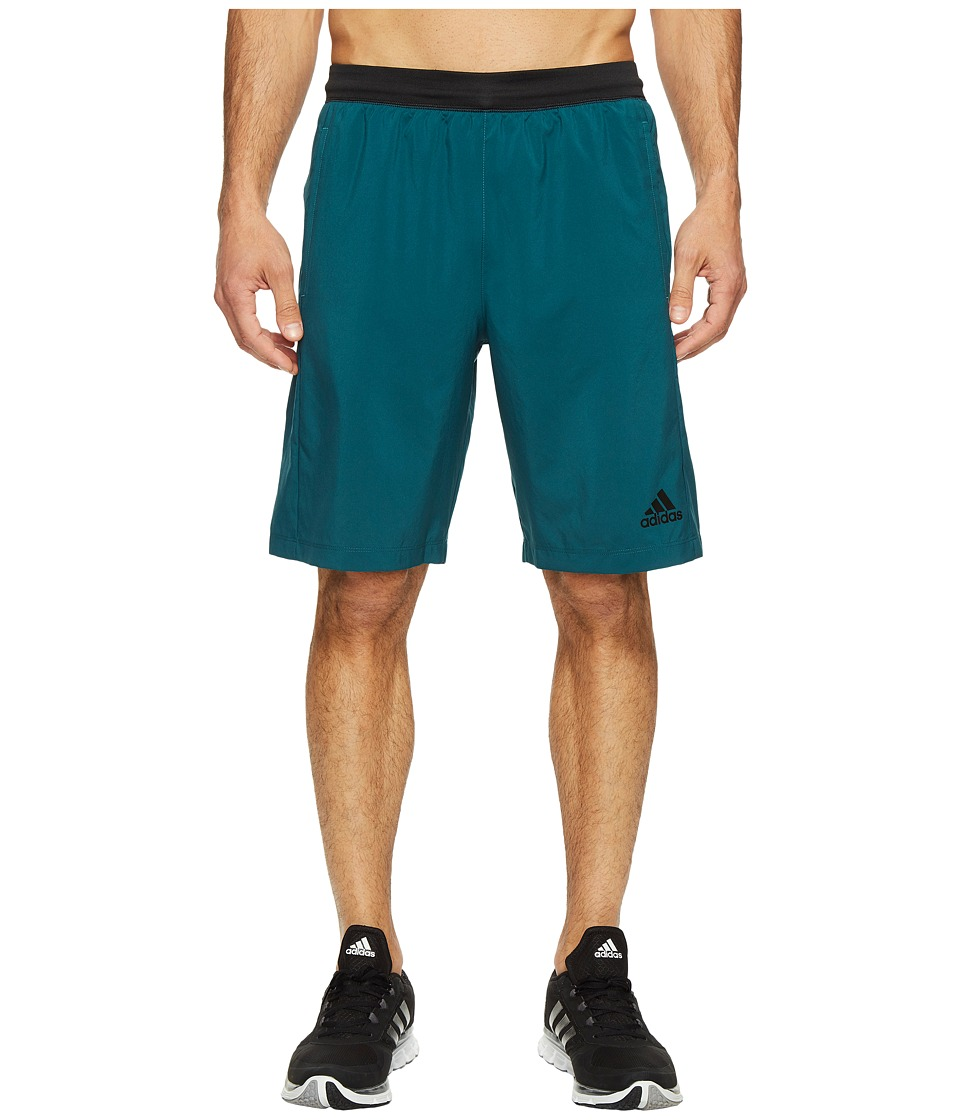 adidas - Designed-2-Move Woven Shorts (Mystery Green) Men's Shorts