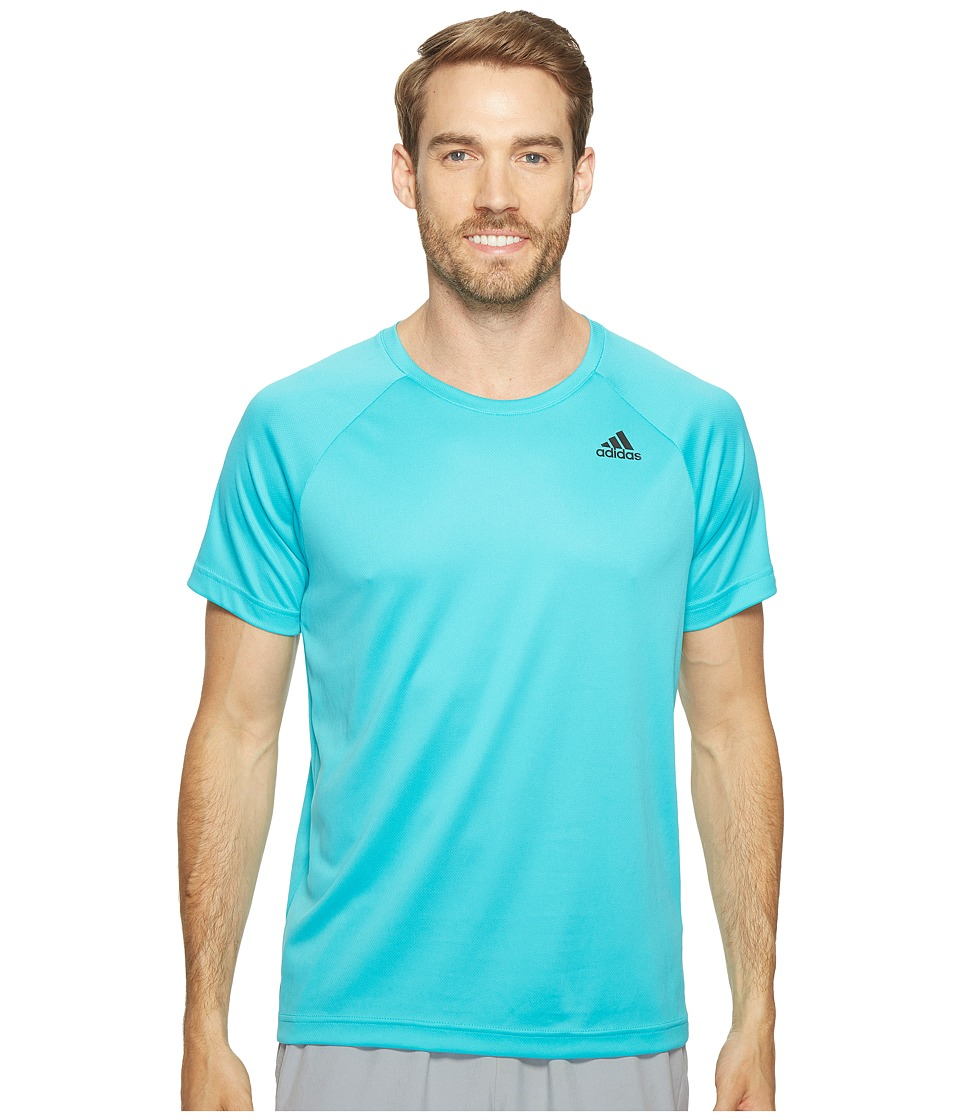 adidas - Designed-2-Move Solid Tee (Energy Blue) Men's T Shirt