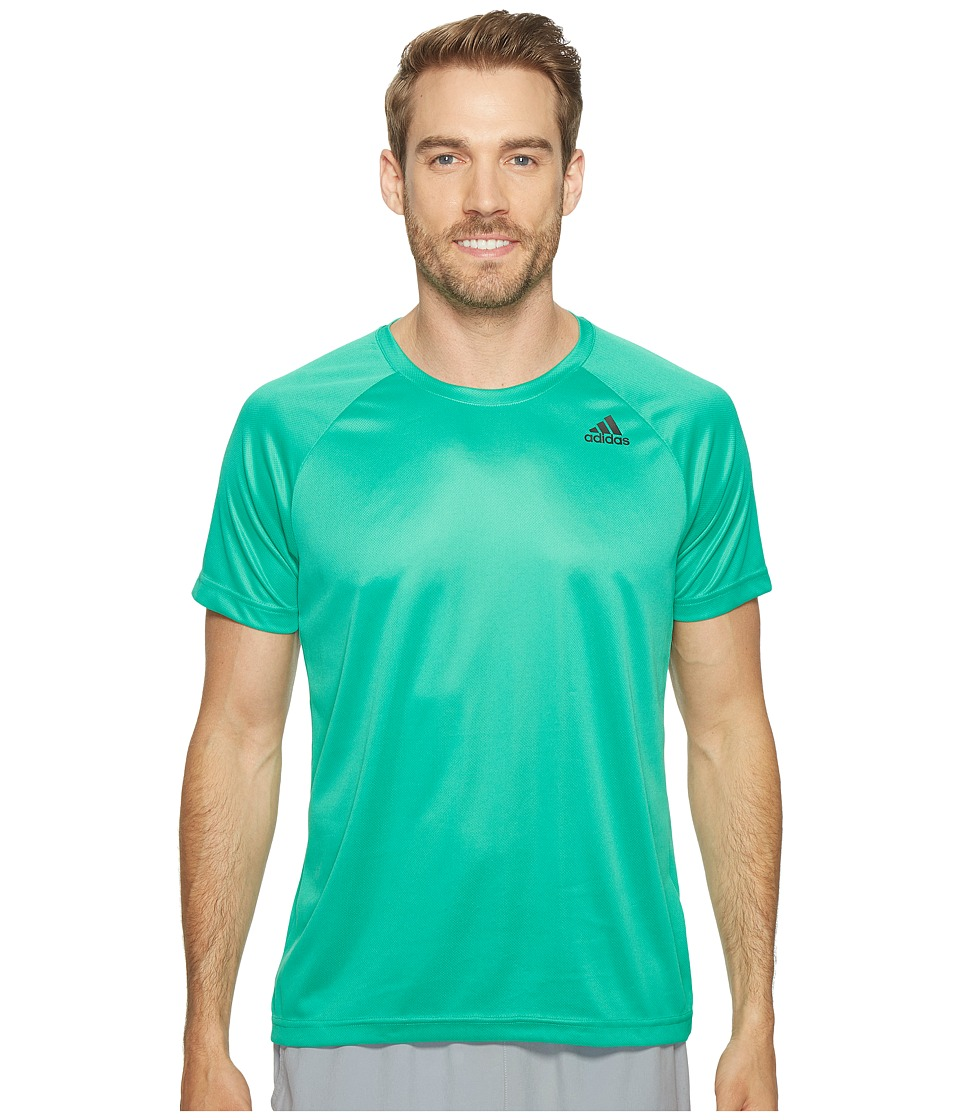 adidas Designed-2-Move Solid Tee (Core Green) Men