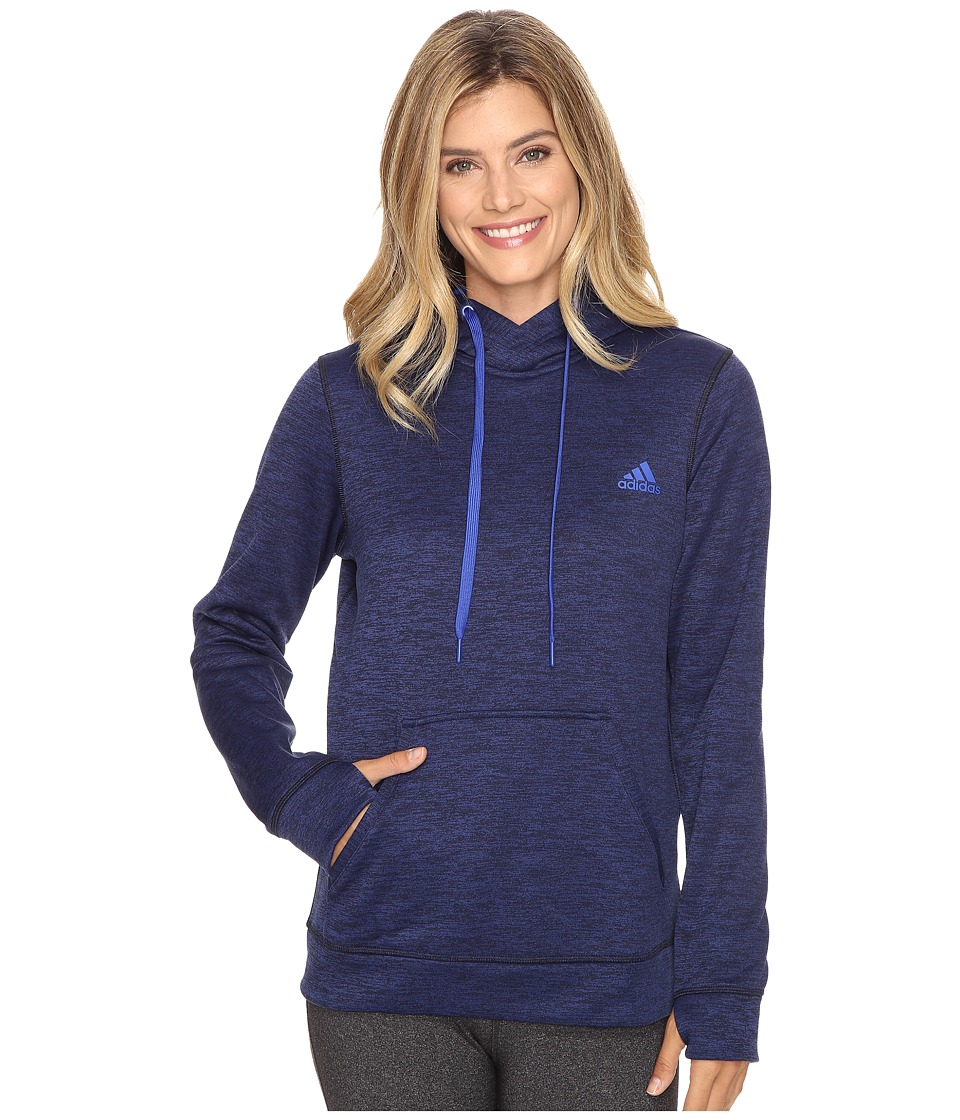adidas - Team Issue Fleece Pullover (Unity Ink) Women's Fleece