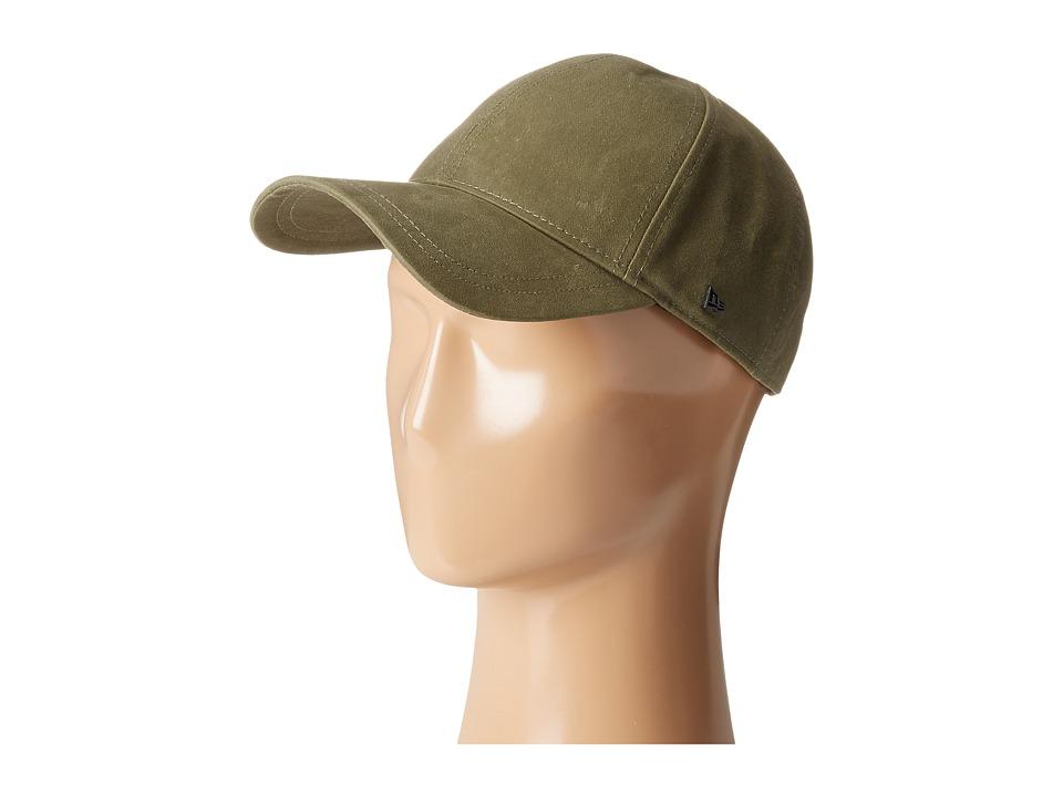 New Era - Coated Cotton 9Twenty (Olive) Caps