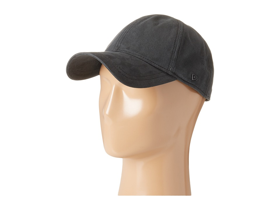 New Era - Coated Cotton 9Twenty (Black) Caps