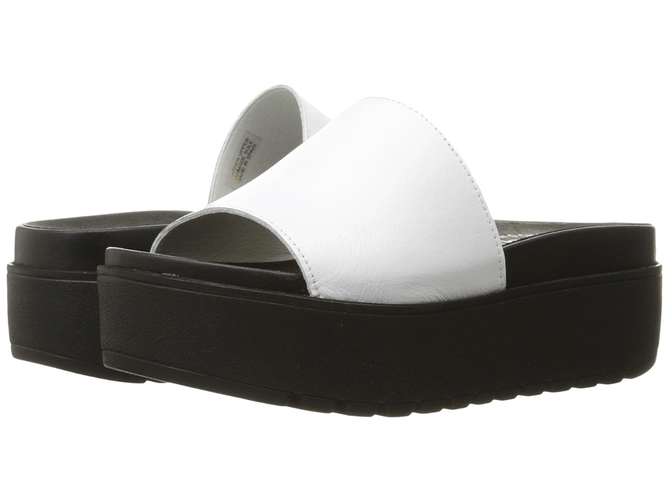 Shellys London Kora Slide (White) Women