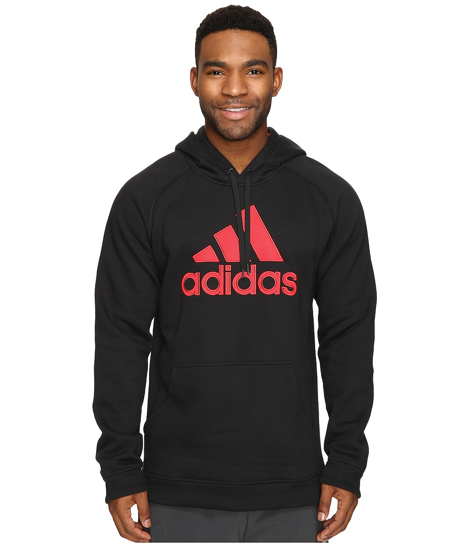 adidas - Essential Cotton Fleece Pullover (Black) Men's Fleece