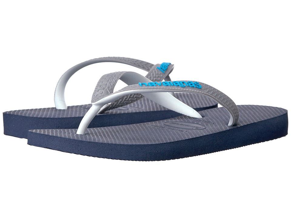 Havaianas - Top Mix Flip Flops (Navy Blue/Steel Grey) Women's Sandals