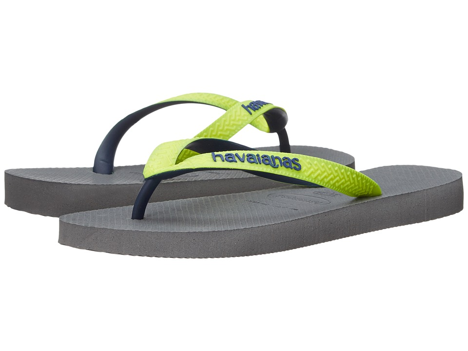 Havaianas Top Mix Flip Flops (Steel Grey 1) Women