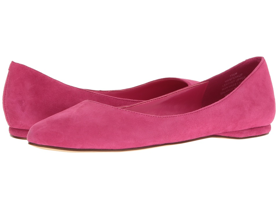 Nine West - SpeakUp (Pink Suede) Women's Dress Flat Shoes